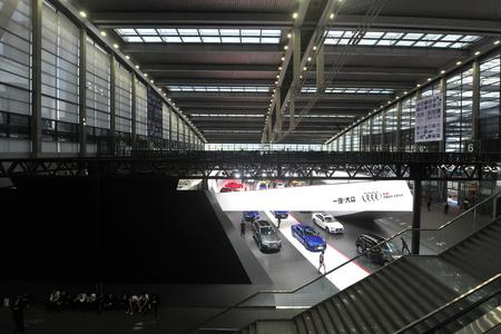 Audi exhibition hall
