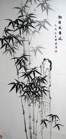 traditional Chinese painting Редакционное
