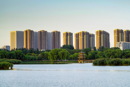 Yinchuan City Building
