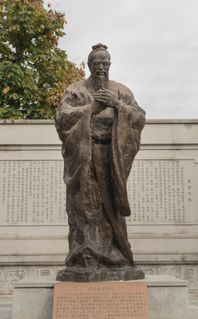 Confucius statue Editorial