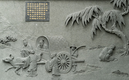 Confucius holy map