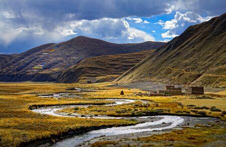 scenery in Tibet