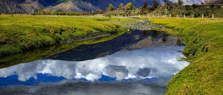 Xinduqiao Autumn river