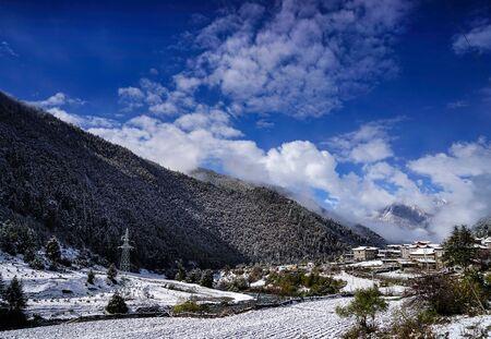 Gongga Township scenery