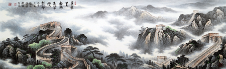landscape traditional chinese painting