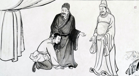 Traditional Chinese ink painting