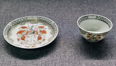 Qing Dynasty Heraldic Porcelain