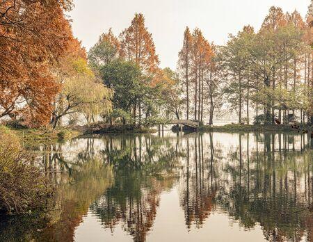 West Lake Yanggong Dike scenery