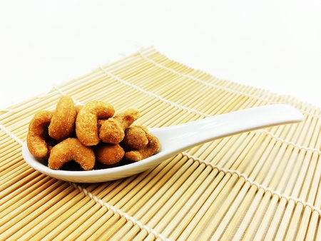 deep fried salted cashew nuts