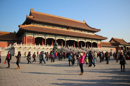 imperial: The Imperial Palace in Beijing Editorial