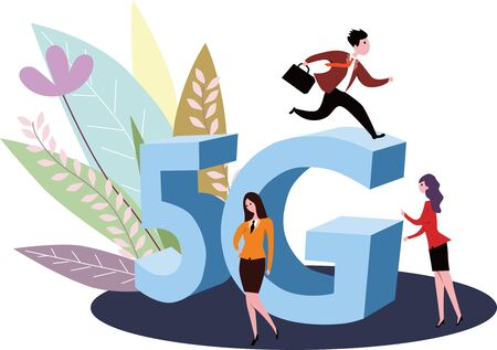 5G business revolution in the global communications