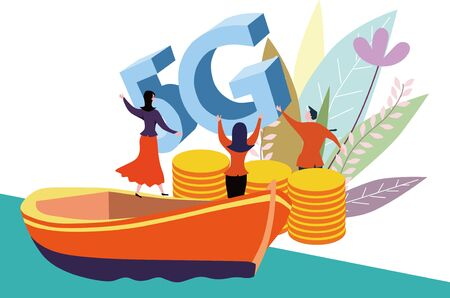 5G offshore wealth coins operate the technological revolution of global communications