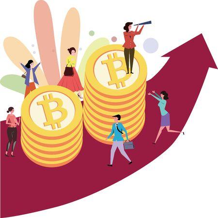 Bitcoin rising blockchain technology