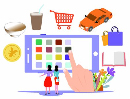 concept of convenience through online shopping