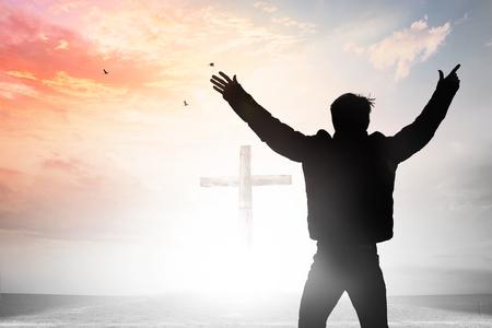 Worship Praise Concept