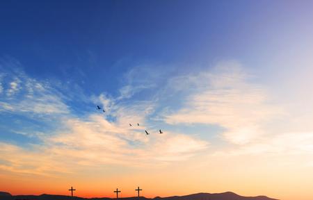 religious cross background 版權商用圖片
