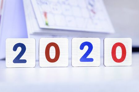 2020 concept: 2020 Happy New Year