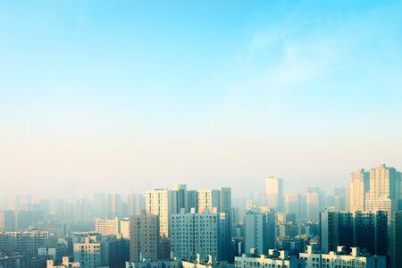 City Day Concept: City view Stockfoto