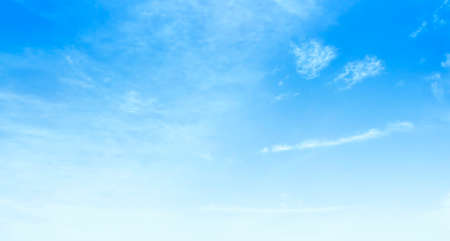 Sky nature background concept: Natural sky beautiful blue and white texture background