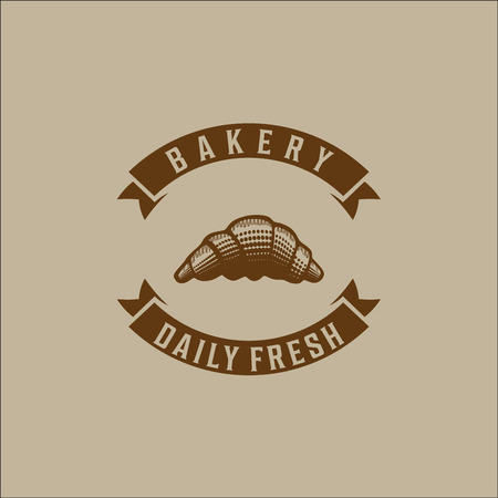 bakery logo vector Illustration