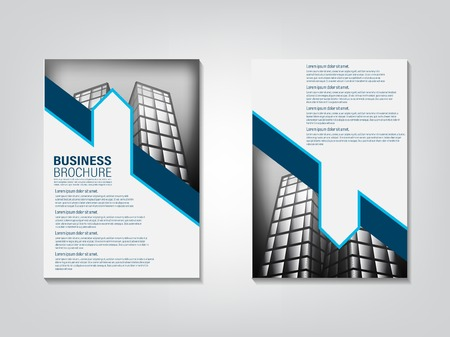 design cover book, business template