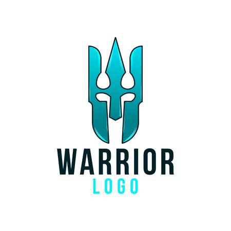warrior logo design