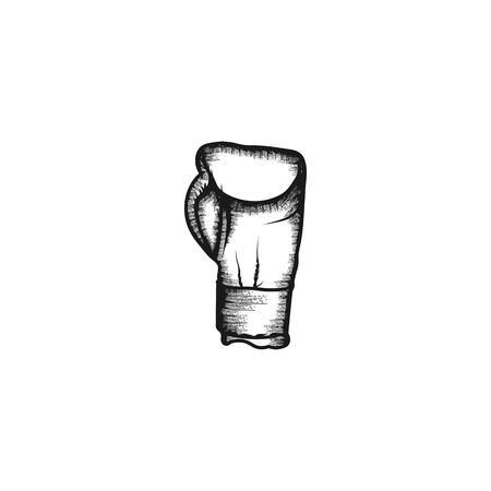 boxing gloves logo design inspiration Иллюстрация