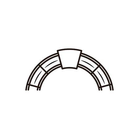 red brick, furnace logo design inspiration