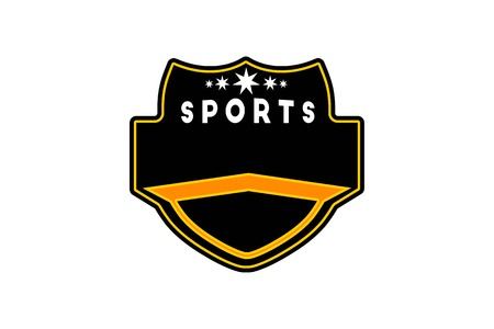 sport badge template logo Designs Inspiration Isolated on White Background