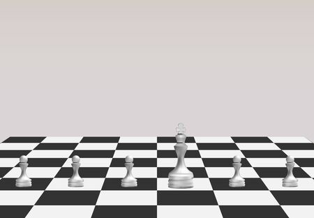 Chess Game, strategy ideas concept business