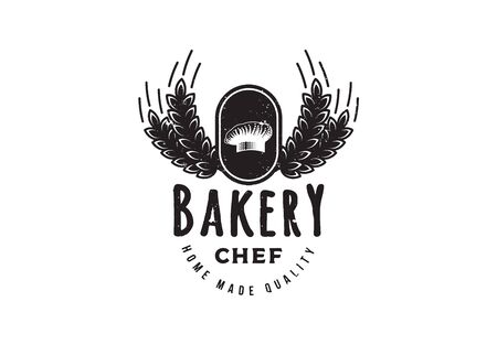 Vintage, Retro Bakery Shop , Vector Illustration Stock Illustratie