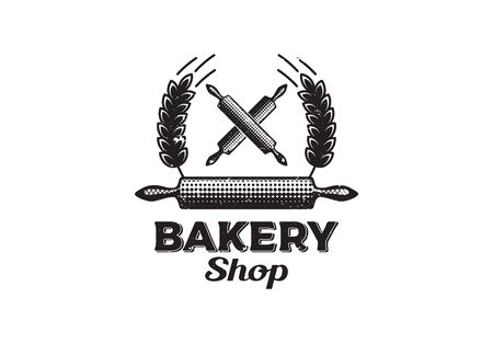 Vintage, Retro Bakery Shop , Vector Illustration Illustration