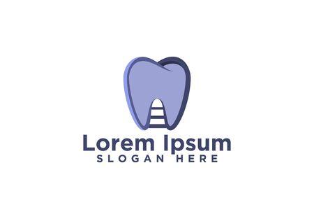 Dental Logo Designs Vector Illustration  イラスト・ベクター素材