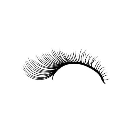 Idées de logo de sourcils. Création de logo d'inspiration. Illustration vectorielle de modèle. Isolé sur fond blanc Logo