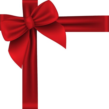 Coffret cadeau. Collection cadeau réaliste présente vue de dessus. illustration vectorielle