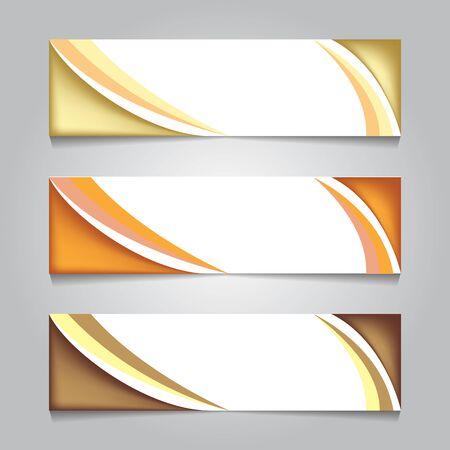 golden luxury web banner. print banner template design. for promotion or backdrop. vector illustration