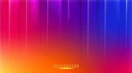 Abstract gradient mesh background in bright Colorful social media background
