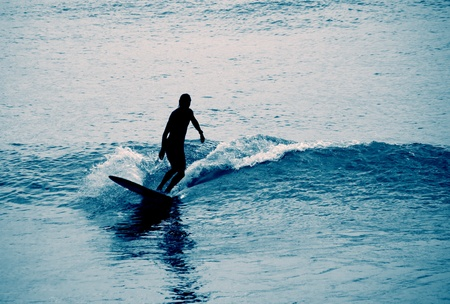 Surfing photo