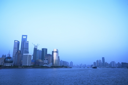 Shanghai Pudong City Night photo