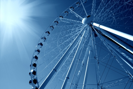 Playground Ferris Wheel Stock Photo - 14950001