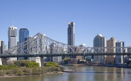 Brisbane City, Australia Editorial