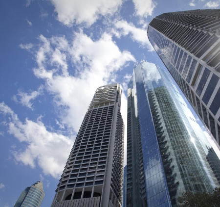 City of Brisbane, Australien Editorial