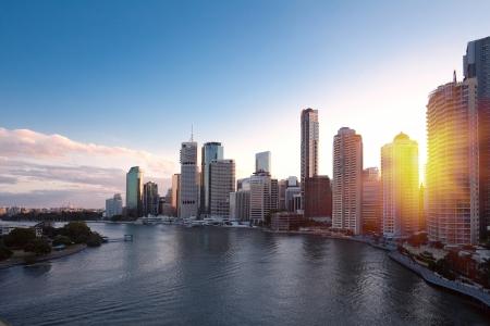 daytime: Brisbane city