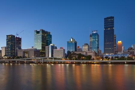 Queensland, Brisbane city, night