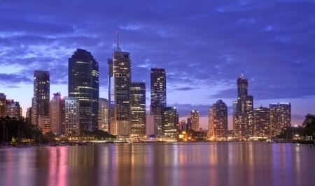 オーストラリア、ブリスベンの都市景観