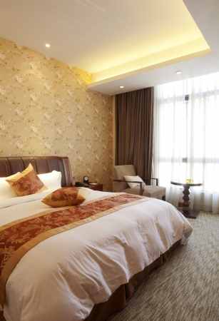 nice accommodations: Luxury hotel rooms Editorial