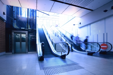 Subway escalator Stock Photo - 16782490