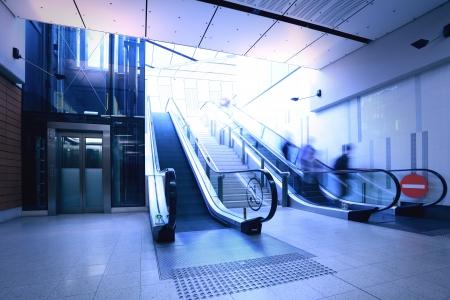 Subway escalator Stock Photo - 16782490