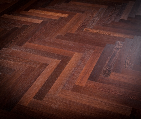 Teak flooring Stock Photo - 16801567