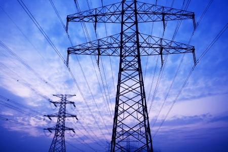 power transformer: Power tower